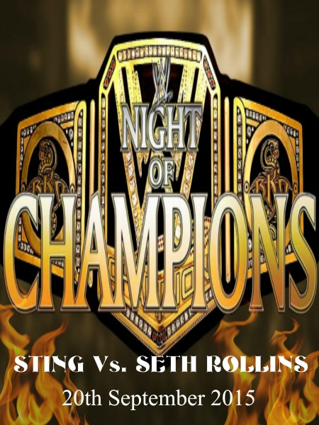 WWE Night Of Champions 20th September (2015)